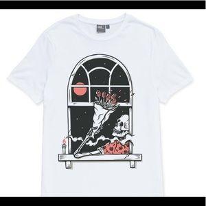ASOS Graphic White Tee Shirt